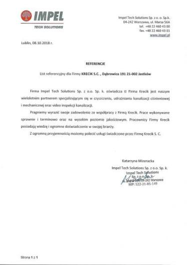 Impel Tech Solutions Sp. z o.o. Sp.k.